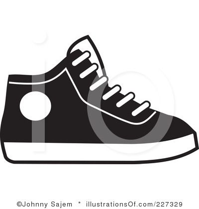 Clip Art Sneakers Clipart 1000 images about clip art on pinterest trainers design your own and decorations for party