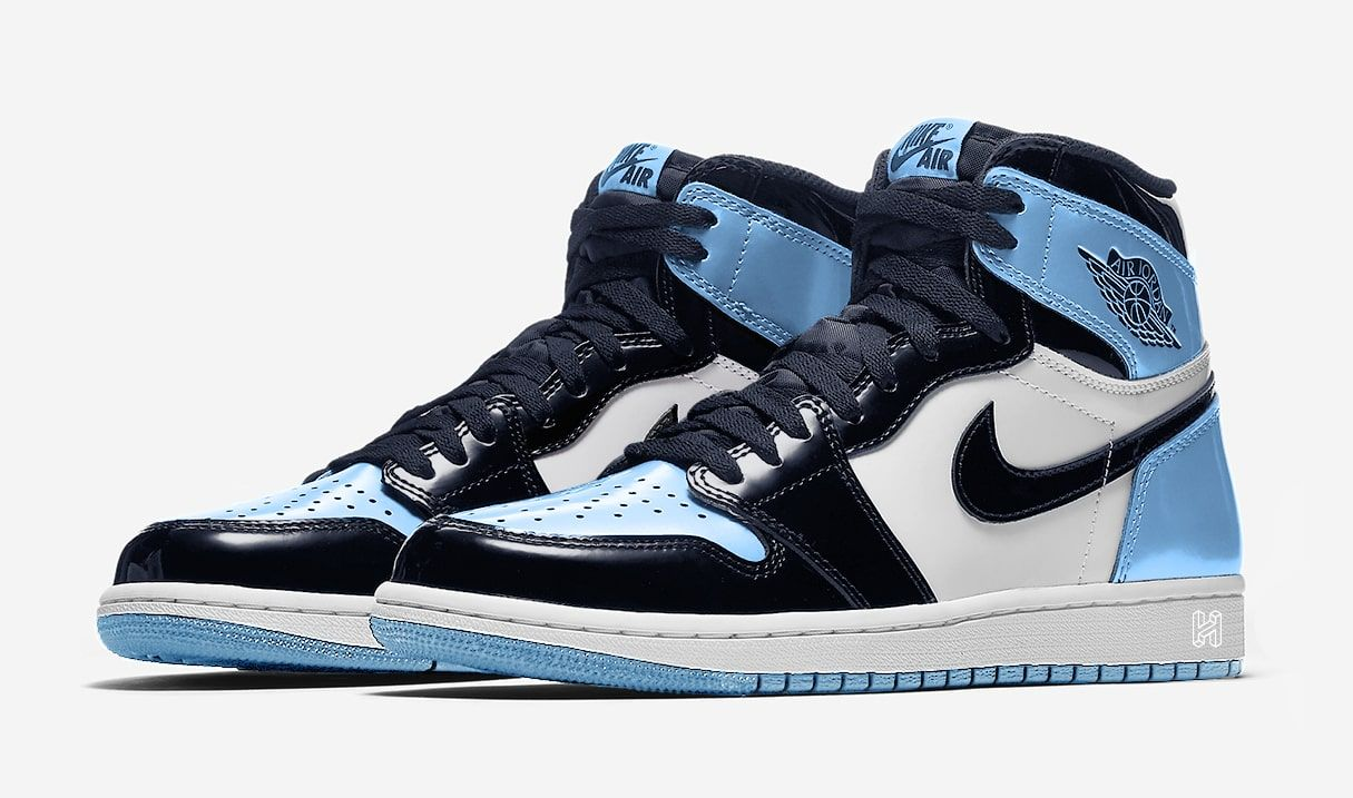 6b12f0ec85a3 There s a Patent Leather Air Jordan 1