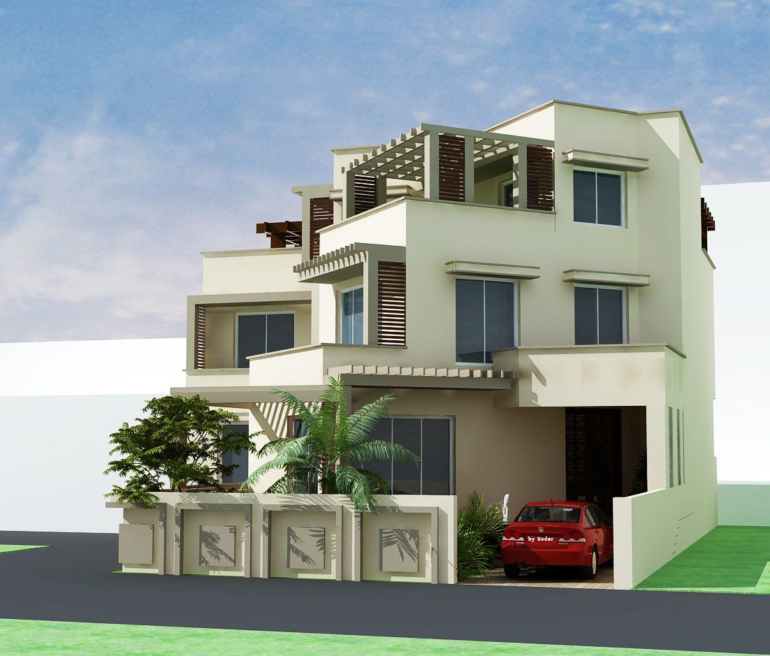 3d front elevation com pakistani sweet home houses floor