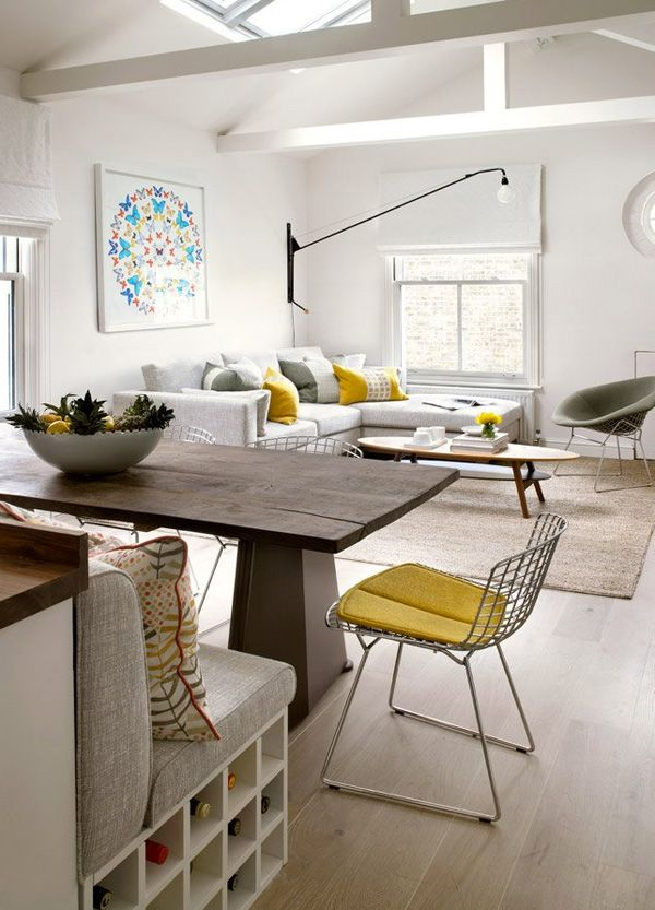 Amory Brown desiretoinspirenet Living Dining RoomsEclectic