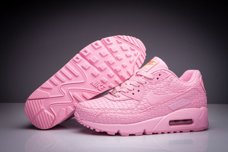 nike womens air max 90 in black pink and white cake