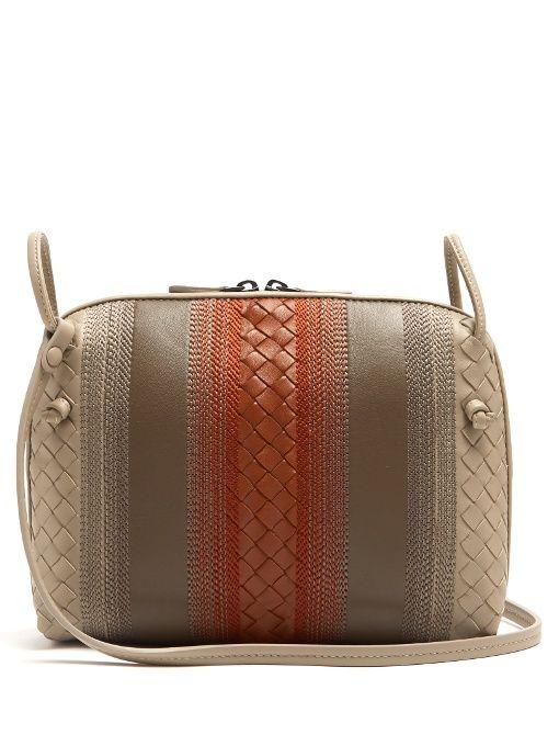 e07f47fc1e BOTTEGA VENETA Nodini Small Embroidered Cross-Body Bag.  bottegaveneta  bags   shoulder