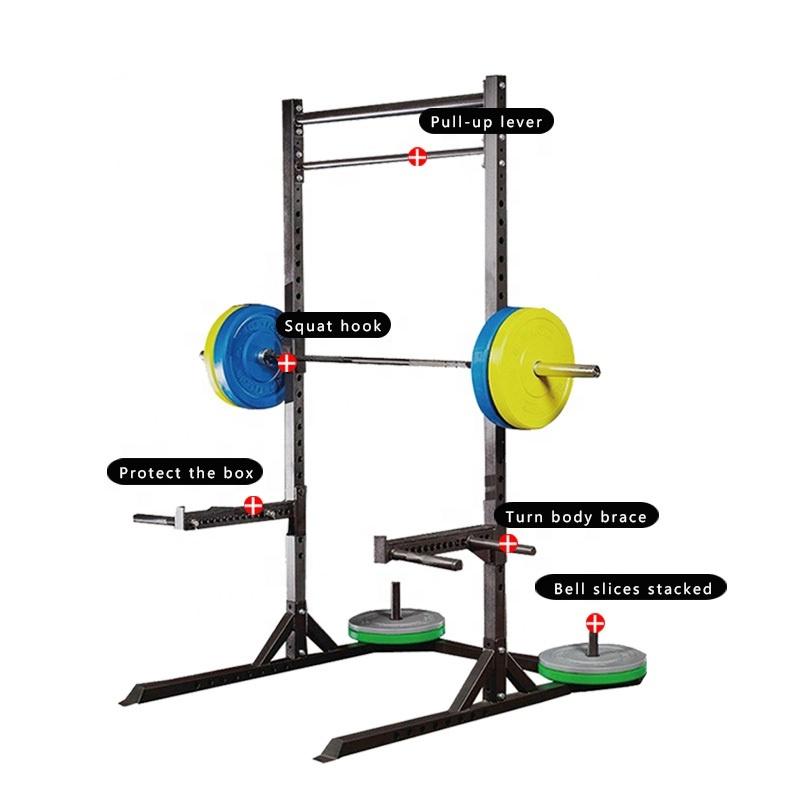 New Gym Equipment Chinese Adjustable Half Squat Rack Buy
