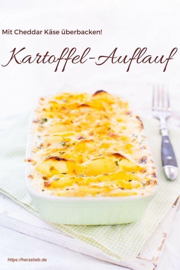 Kartoffelauflauf Rezept Mit Herzhaftem Kase Und Schnittlauch Hausmannkost Kartoffelauflauf Rezept Rezepte Kartoffelauflauf