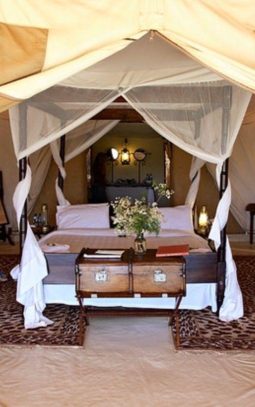 Safari Style Tentes, Mobilier de campagne et Explorateur