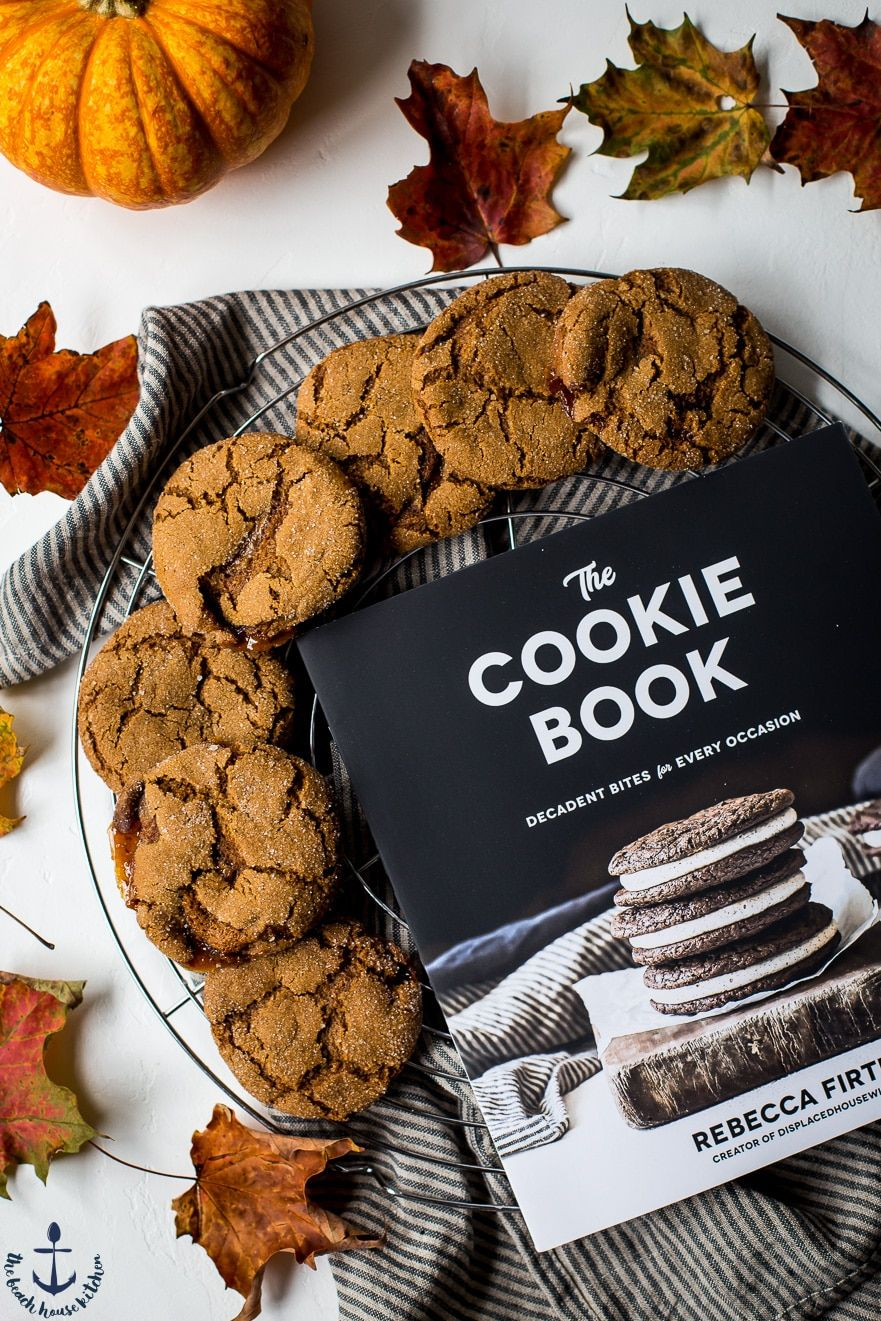burnt sugar ginger cookies a giveaway the beach house kitchen rh pinterest com