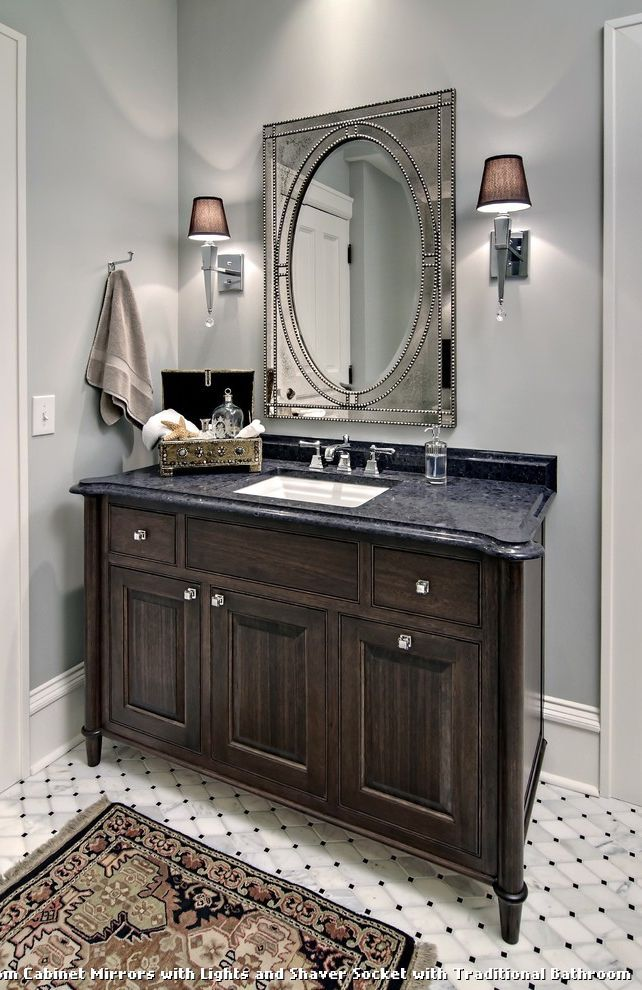 bathroom cabinet mirrors with lights and shaver socket bathroom rh pinterest co uk