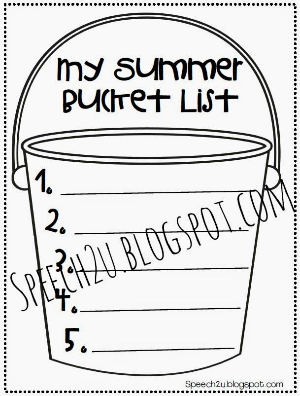 Mama-on-Days: My Summer Bucket List and a FREEBIE (With