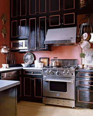 30 Bluestar Freestanding Range Steampunk Kitchen Bathroom Black Cabinets
