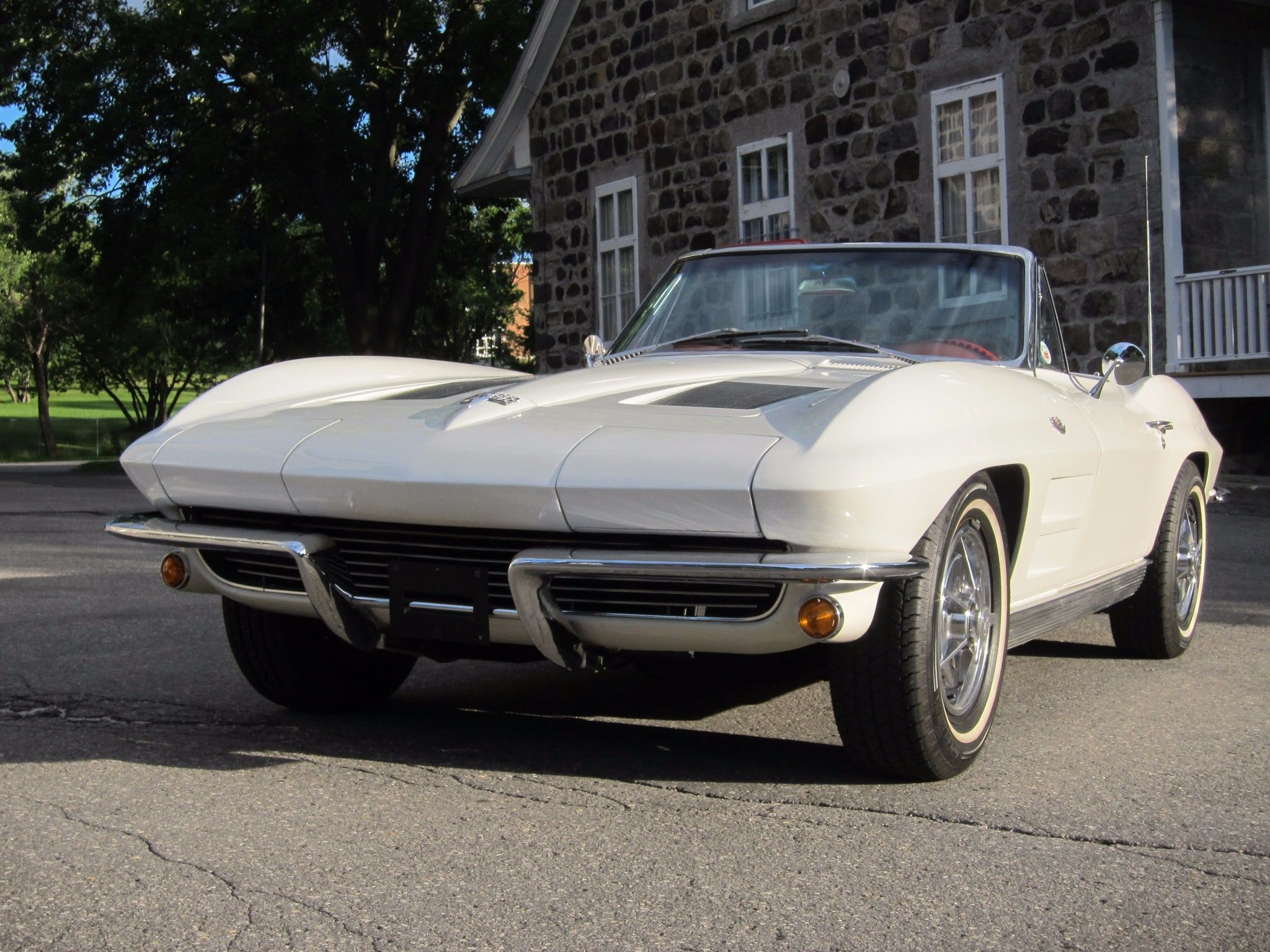 this 1963 chevrolet corvette sting ray convertible is a two owner rh pinterest com
