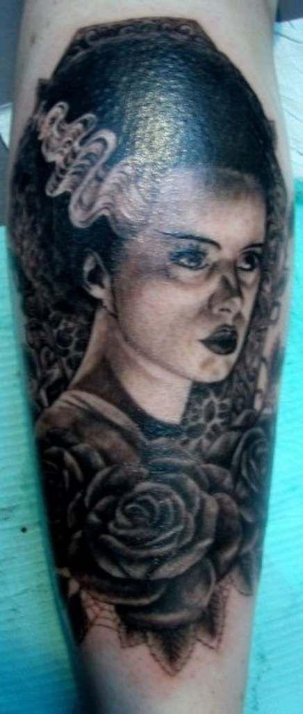 Photo of 36 Trendy Classic Art Tattoo Bride Of Frankenstein