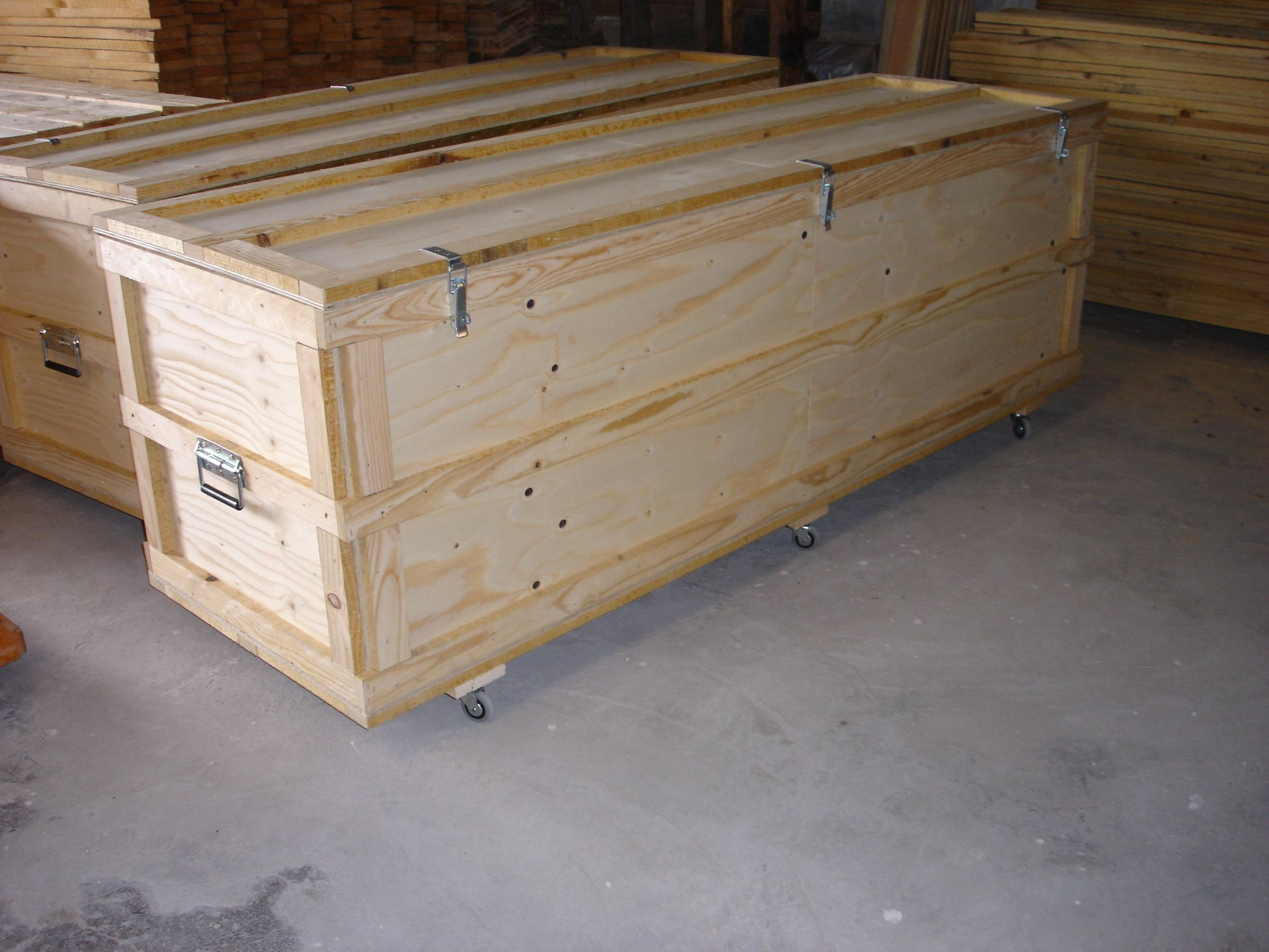 cajas de madera para obras de arte