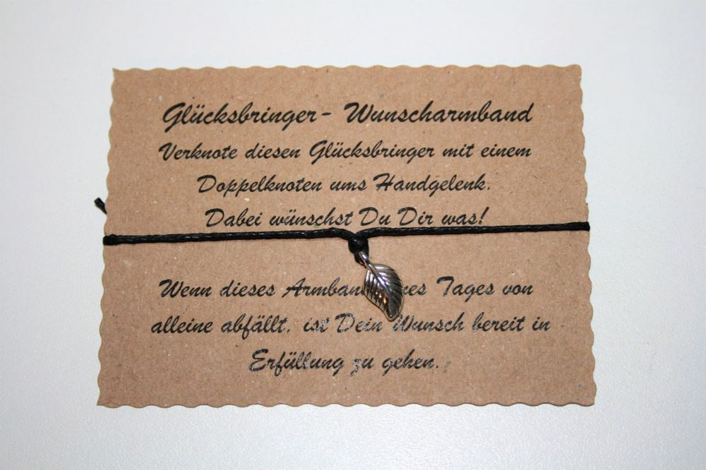 Wunscharmband make a wish Armband Freundschaft Liebe Glücksbringer Herz Grün