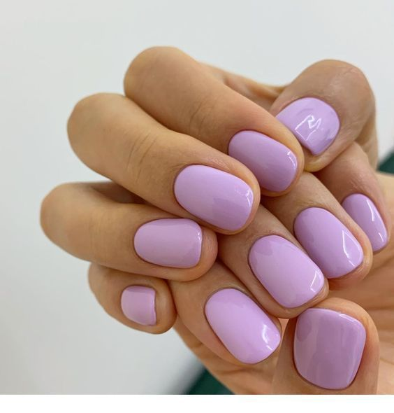 Short | Lovely mauve short nails click here to more details or click here to View Offer DetailsAdvertisementBuild your website on the world most powerful platform #gelnails #springnails