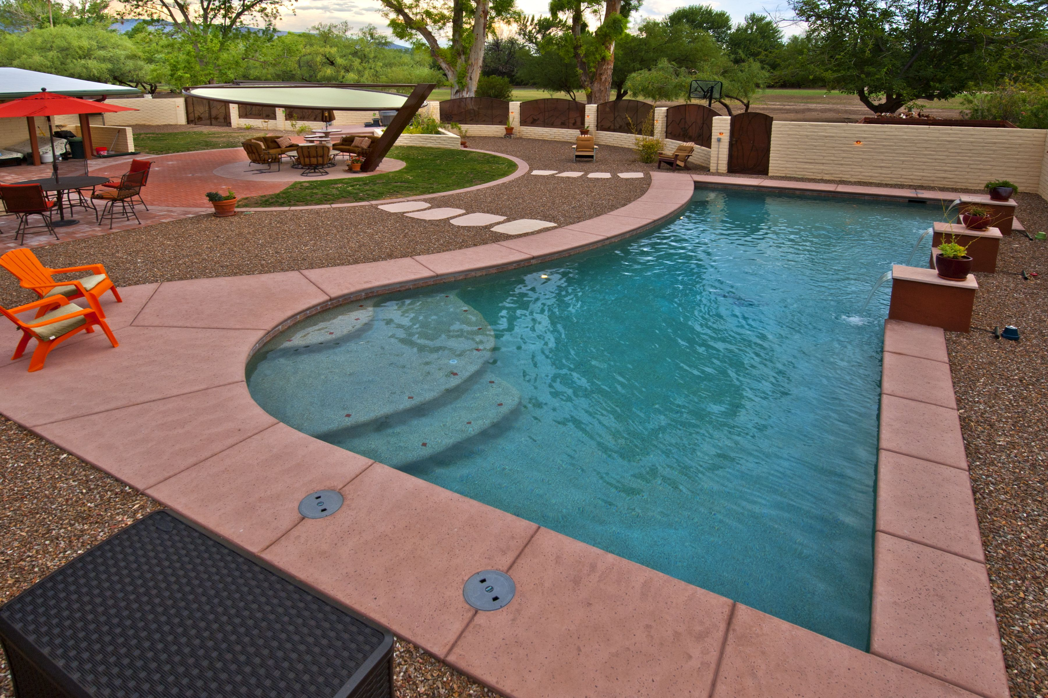 Custom Free Form Pool By Patio Pools U0026 Spas.