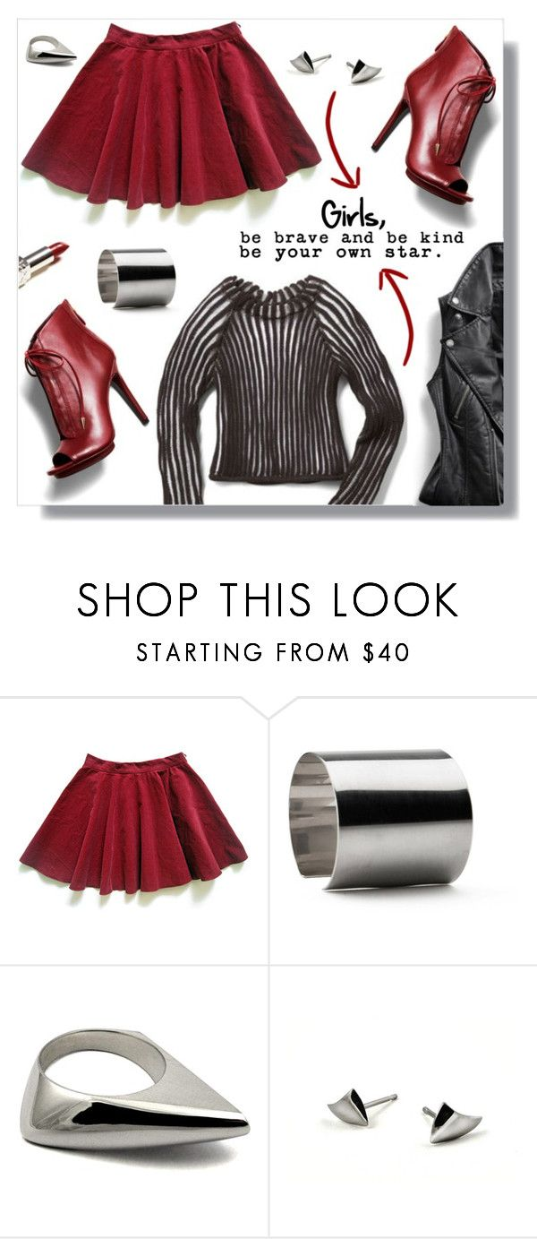 """""""Girl Power!"""" by peony-and-python ❤ liked on Polyvore featuring Rebecca Minkoff and Maria Dorai Raj"""