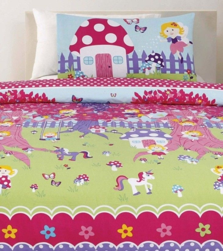 Fairyland Quilt Cover Set by Cubby House Kids
