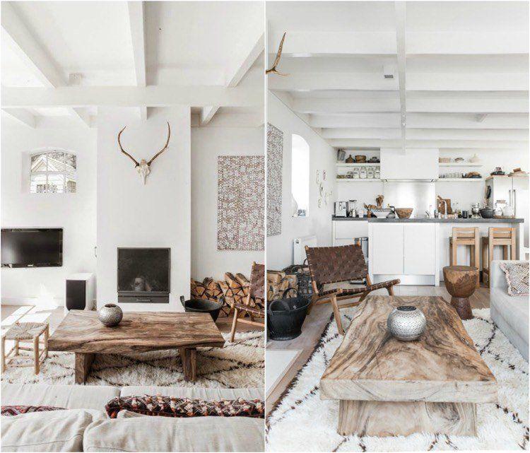 Tendance déco salon – un mix de couleurs et de meubles trendy à ...