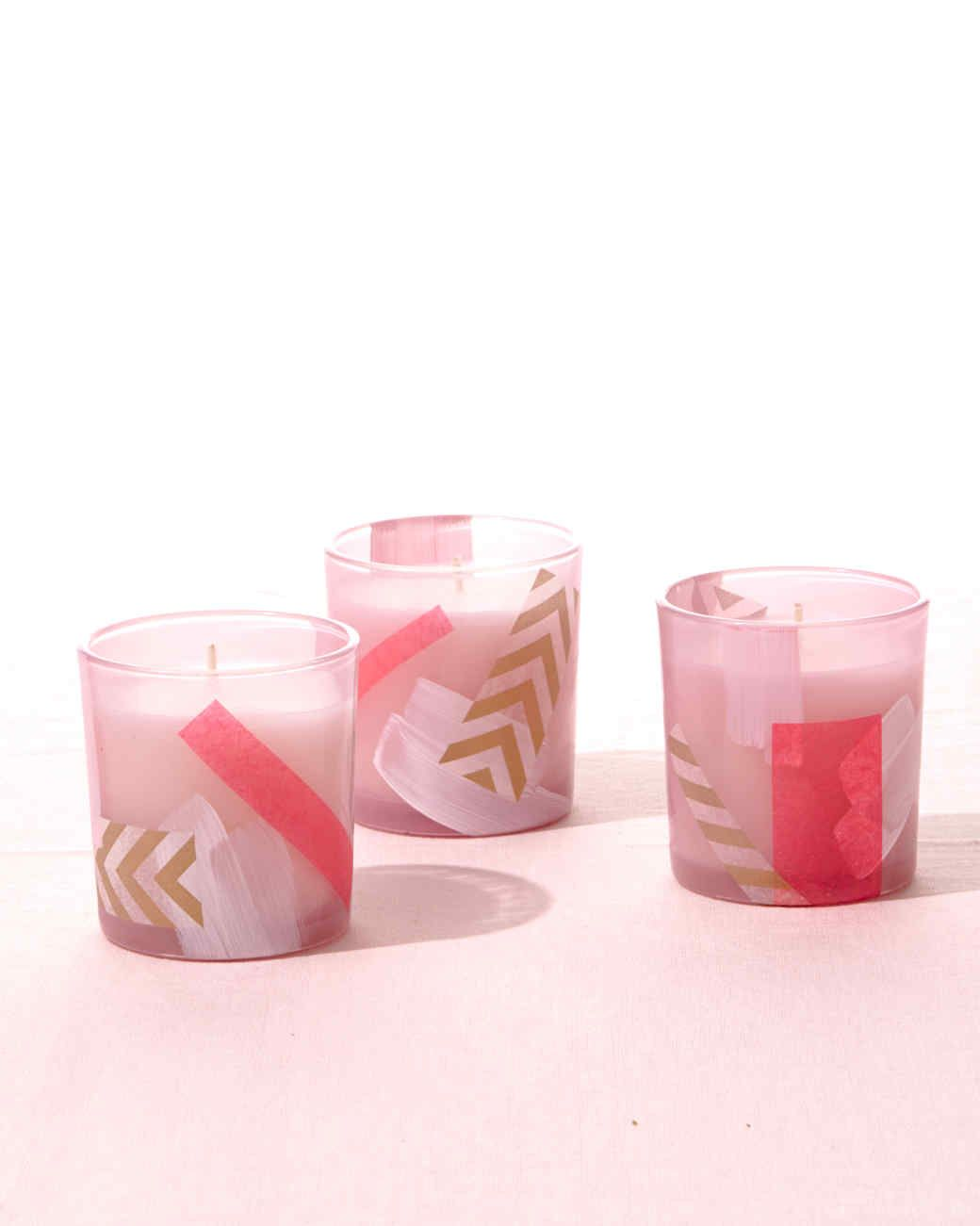 Decoupage Votive Candle Holders