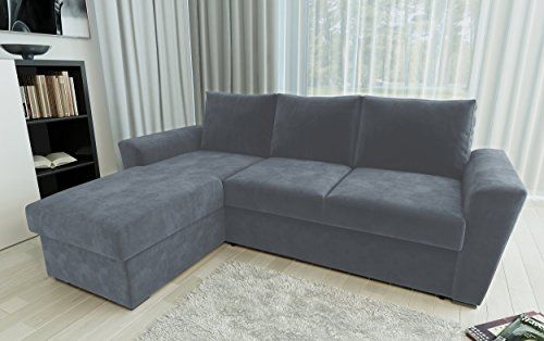 Direct Furniture Stanford L Shape Left Right Corner Sofa Bed With Internal Storage