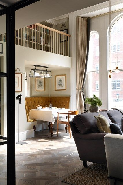 one room of a victorian mansion becomes a stylish flat home decor rh pinterest com