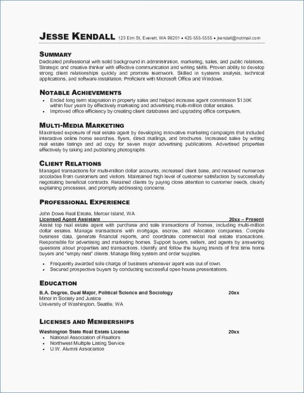 79 Best Of Images Of Example Of Resume Making