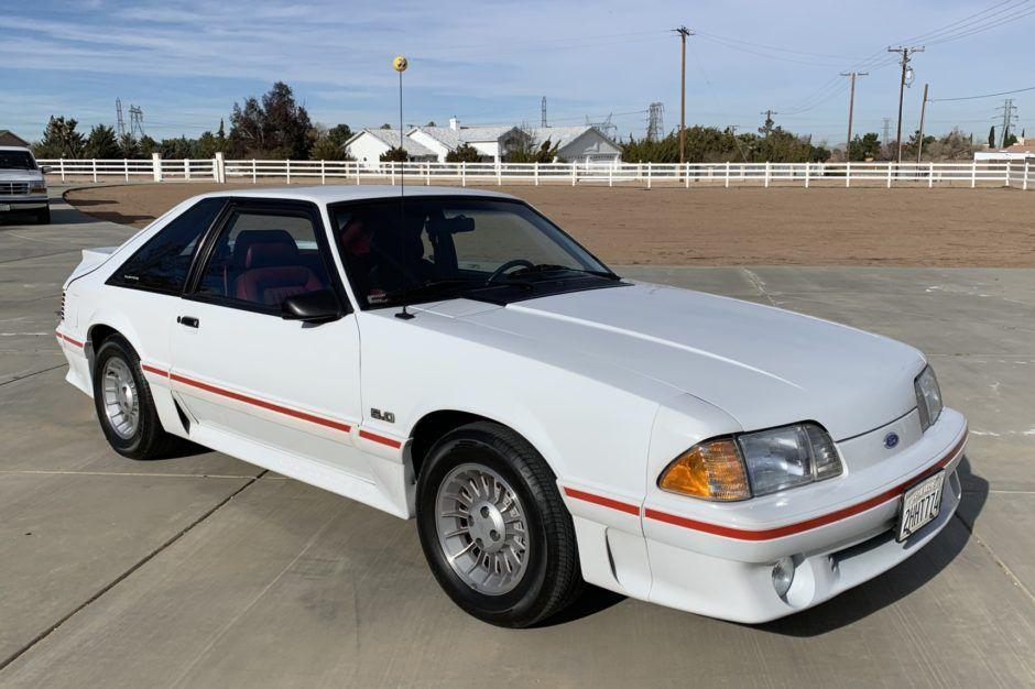 1988 Ford Mustang Gt 5 0 5 Speed Mustang Gt Ford Mustang Ford Mustang Gt