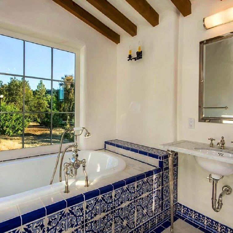40+ Spanish Bathroom Ideas With Mexican Style