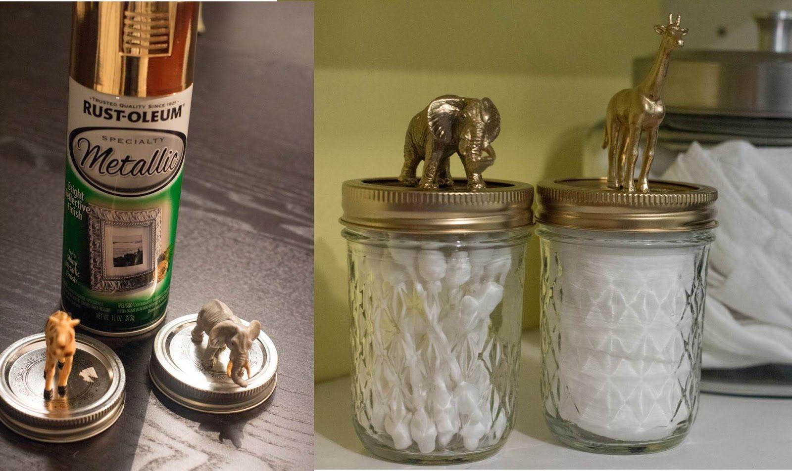 Nursery DIY u0026 Organization glue toy animals