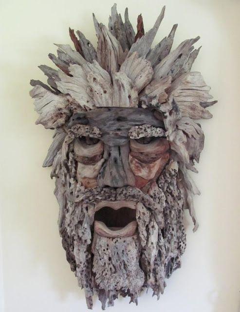 wood spirit/greenman-Old man
