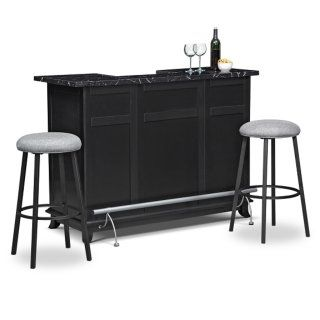 [Pandora 3 Pc. Bar Set] · Dining Room CabinetsDining ...