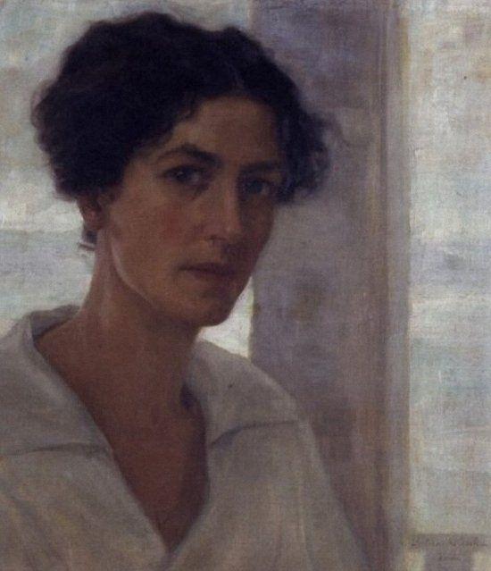 Nasta Rojc_Self portrait (1919.)