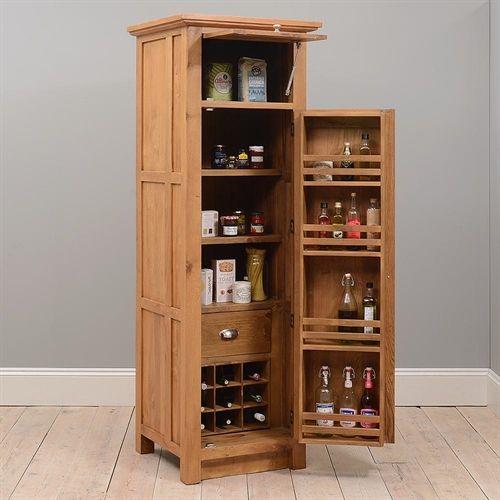 12 Muebles para despensa de madera