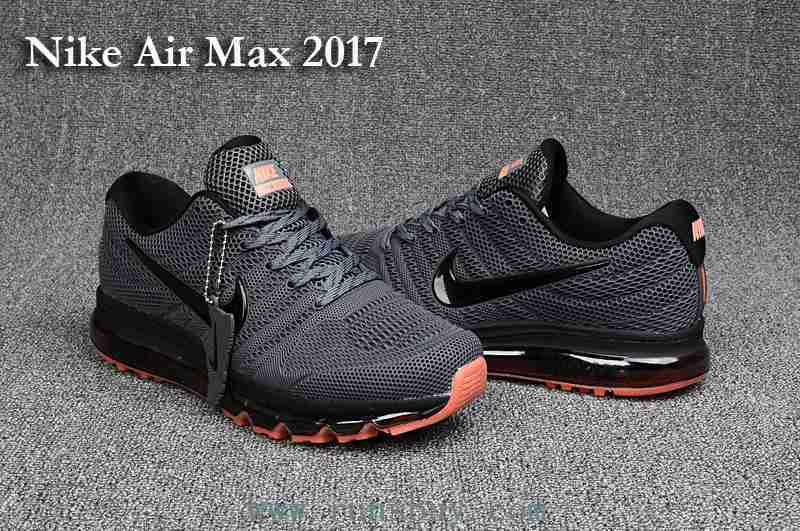Nike Air Max 2017 Men Carbon Grey Shoes | Nike air max