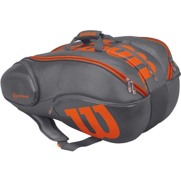 Wilson Tour V 15 Backpack Large Bags Sports Black Unisex Casual Bag WRZ845596