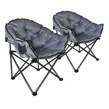 Fantastic Mac Sports Extra Padded Club Chair 2 Pack Camping Uwap Interior Chair Design Uwaporg