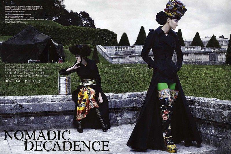 Vogue Korea - Rene Habermacher