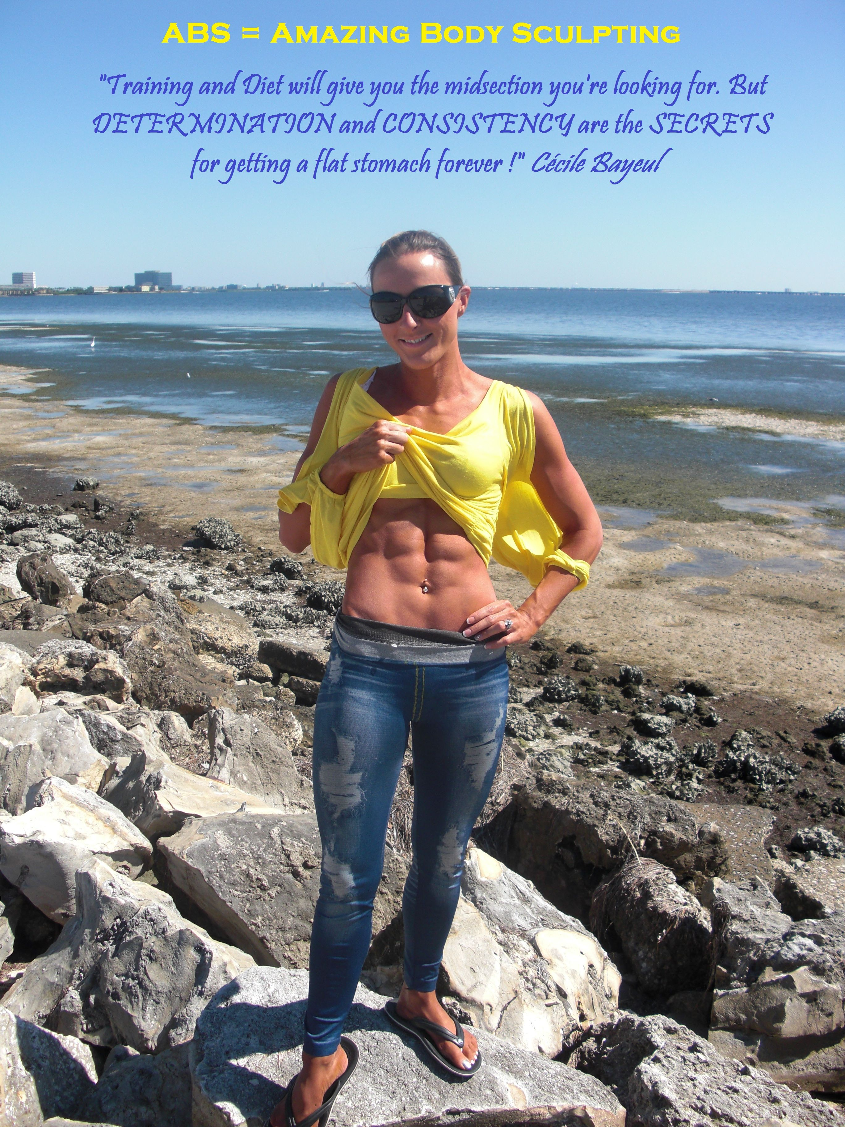 https://www.facebook.com/cecilebayeul DETERMINATION and CONSISTENCY