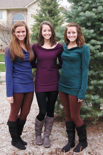 Lengthened Cowl Neck Sweaters, Cowl Neck Top Sewing Pattern by So ...
