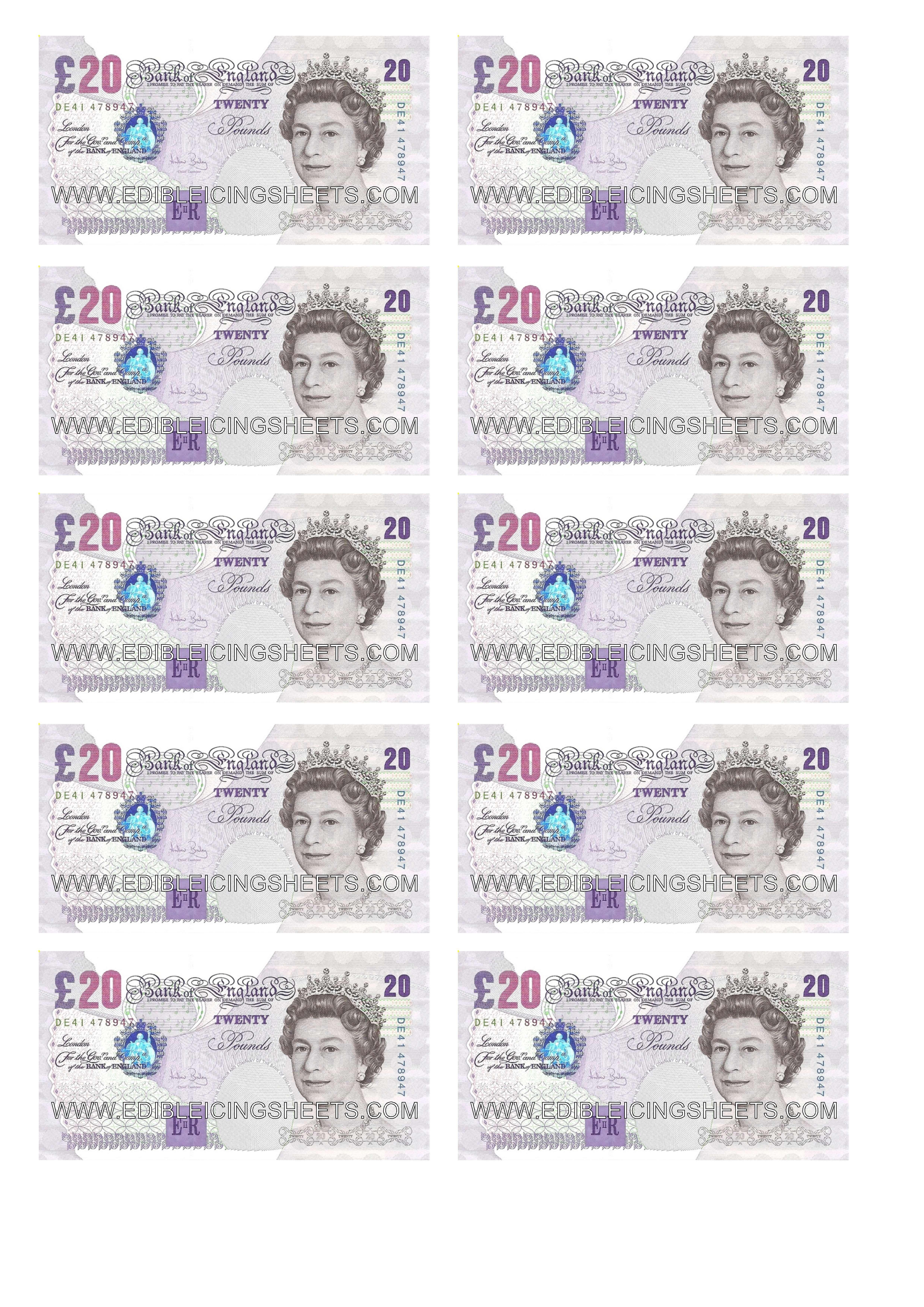 edible money sheets