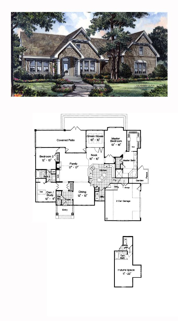 Traditional Style House Plan 63049 With 3 Bed 3 Bath 2 Car Garage Bungalow House Plans Small House Floor Plans House Plans