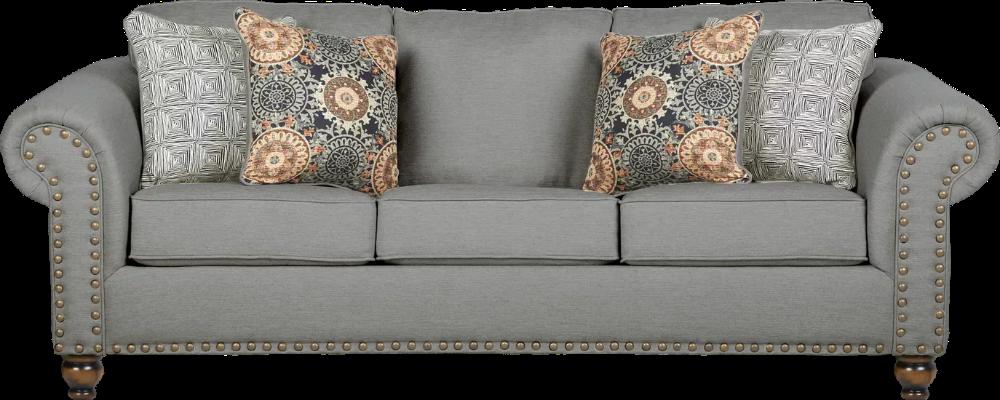 Court Street Gray Gel Foam Sleeper Blue Living Room Decor Gray Sofa Affordable Sofa