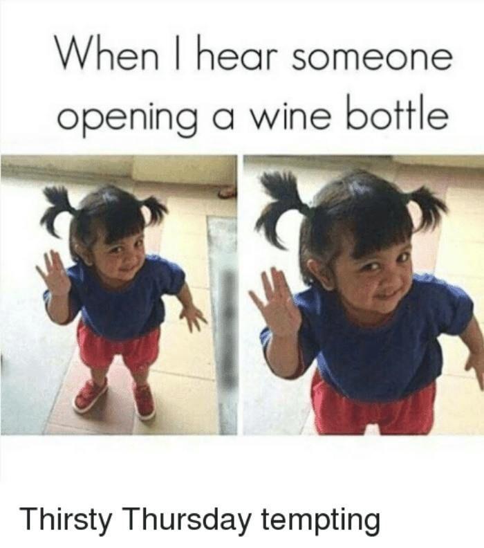 Funny Thirsty Thursday Memes