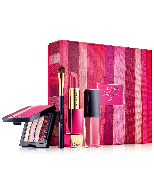 Estée Lauder 4-Pc. Powerful Pink Color Collection Limited Edition Set - Makeup - Beauty - Macy's