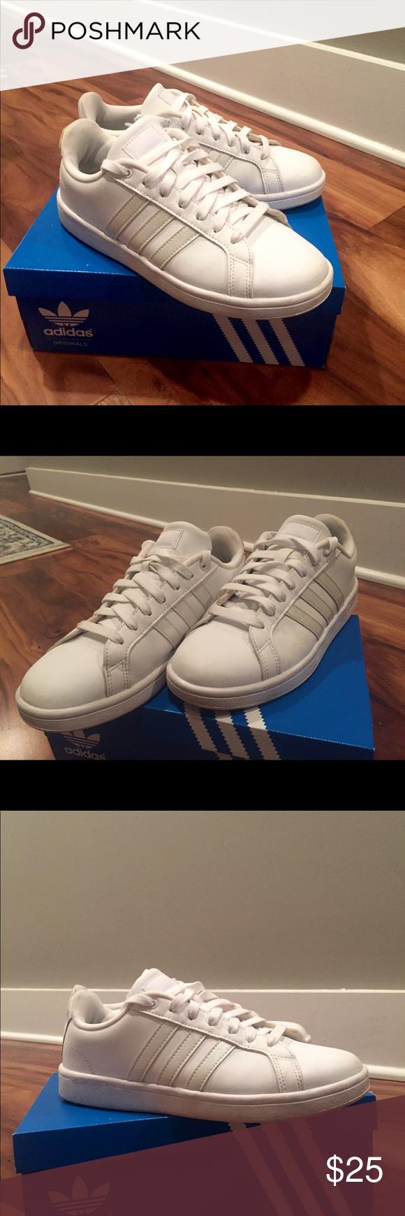 Adidas neo cloudfoam ventaja ( mujer 's 8) Adidas, Adidas zapatos