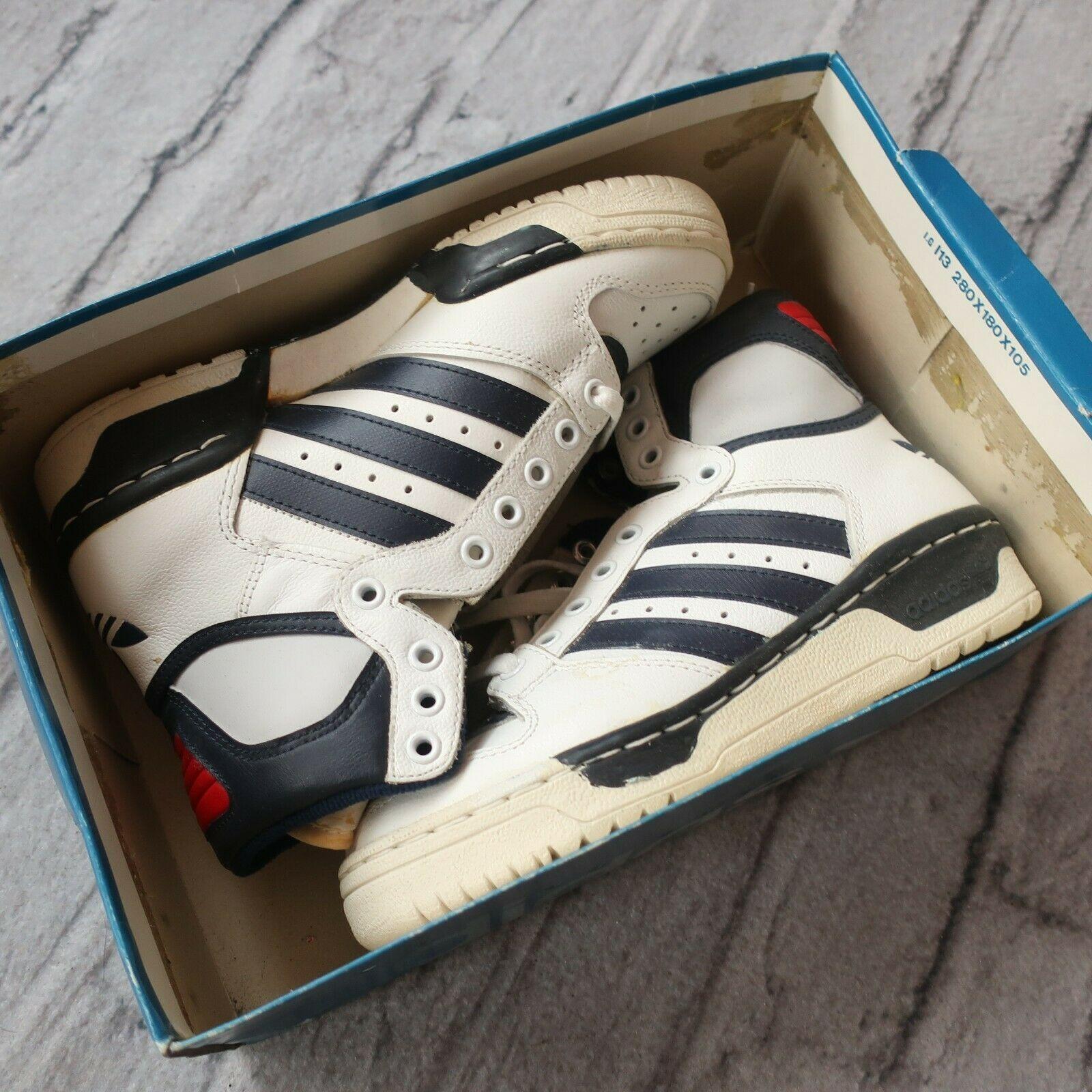 Vintage 1986 New Adidas Conductor Hi Patrick Ewing Shoes Ebay