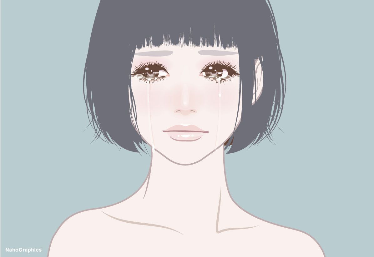 【web】http://naho.tv/ 【twitter】twitter/NahoGraphics 【Youtube】https://www.youtube.com/channel/UC81jOID4X2mNtjh47jp02oQ 【instragram】https://www.instagram.com/naho_note/  #illustration #drawing #art #simple #design #fashion #hair #hairstyle #face #design #イラスト #イラストレーション #アート #女性イラスト #ドローイング #絵 #make #メイク #女の子 #girl #woman #女性 #ファッション #ボブ #ガーリー #ネイル #泣き顔の女の子 #涙 #cry #泣き顔