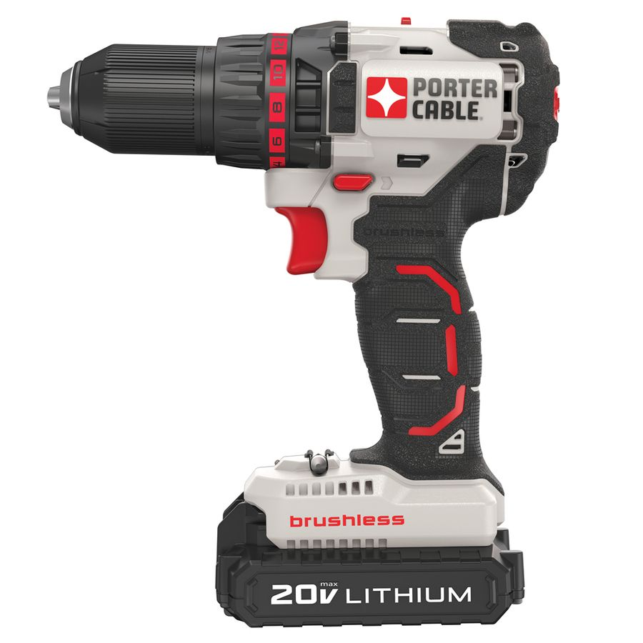 Porter Cable Cordless Drill Features A Compact Design So You Can What Is Brushless Motor And How Does It Work Easily In Tight Areas Powerful Provides More Runtime 360 Uwo For