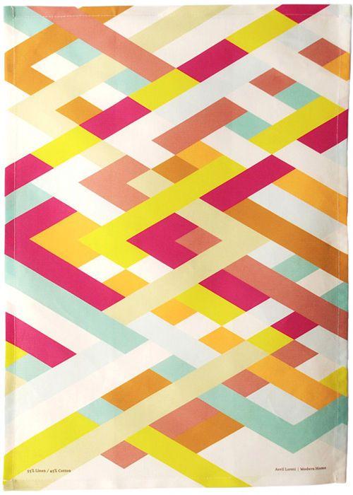 beautiful tea towel by avril loreti