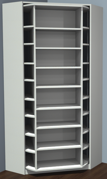 360 Degree Rotating Closet Organizer By Lazy Lee Closet Remodel Closet Designs Walk In Closet Design
